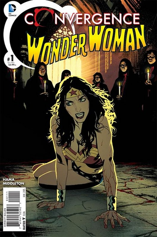 Cover of Convergence: Wonder Woman (2015 Ltd) #1. One of 250,000 Vintage American Comics on sale from Krypton!