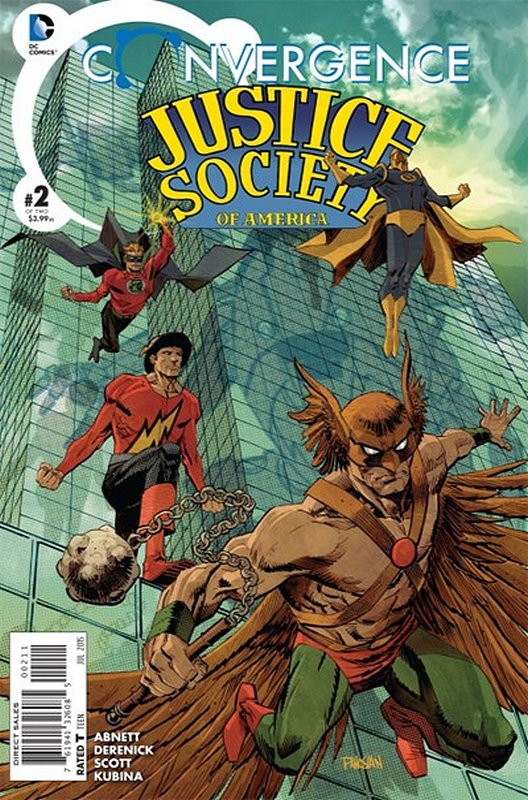 Cover of Convergence: Justice Society of America (2015 Ltd) #2. One of 250,000 Vintage American Comics on sale from Krypton!