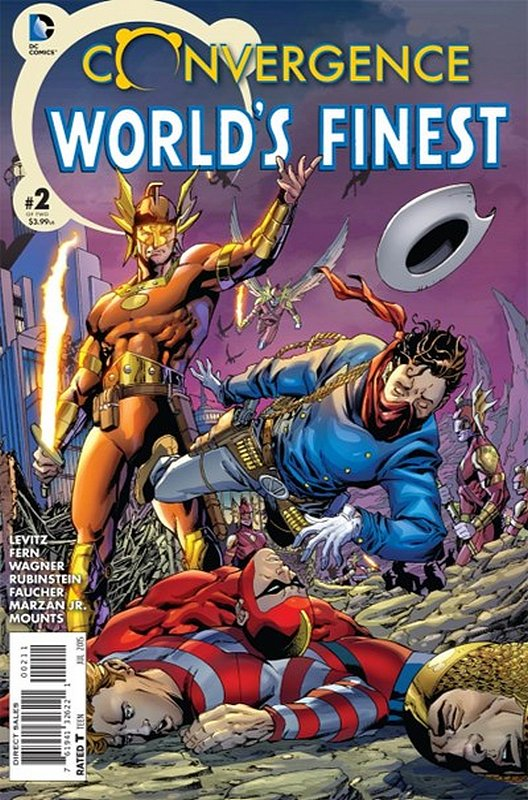 Cover of Convergence: Worlds Finest Comics (2015 Ltd) #2. One of 250,000 Vintage American Comics on sale from Krypton!