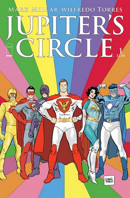 Cover of Jupiters Circle (2015 Ltd) #1. One of 250,000 Vintage American Comics on sale from Krypton!