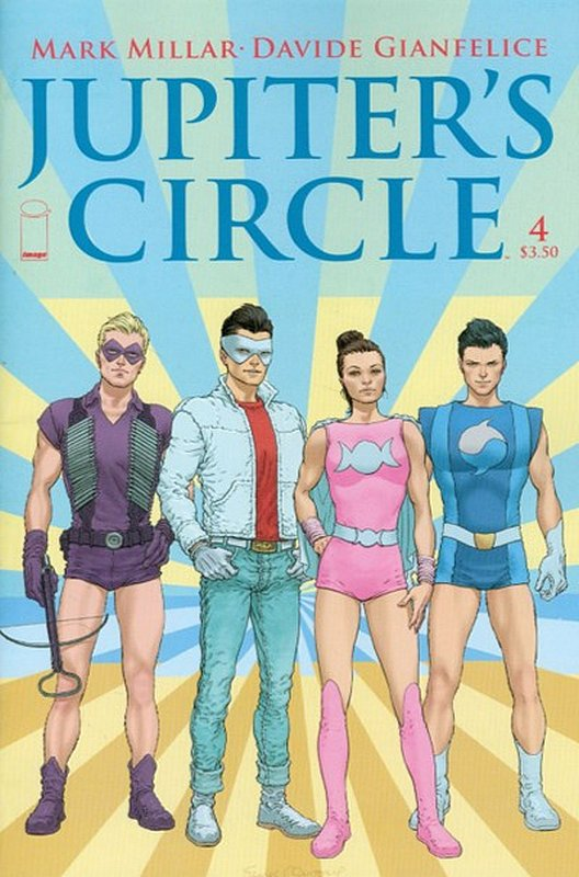 Cover of Jupiters Circle (2015 Ltd) #4. One of 250,000 Vintage American Comics on sale from Krypton!