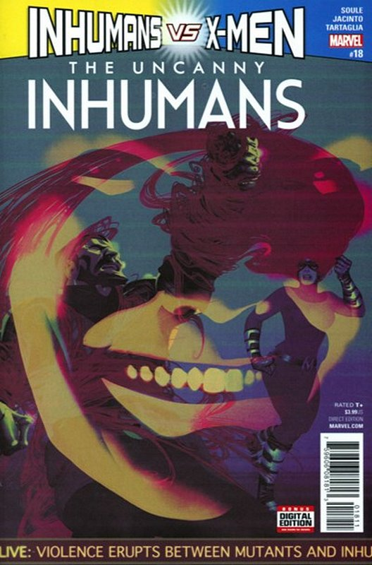 Cover of Uncanny Inhumans (Vol 1) #18. One of 250,000 Vintage American Comics on sale from Krypton!