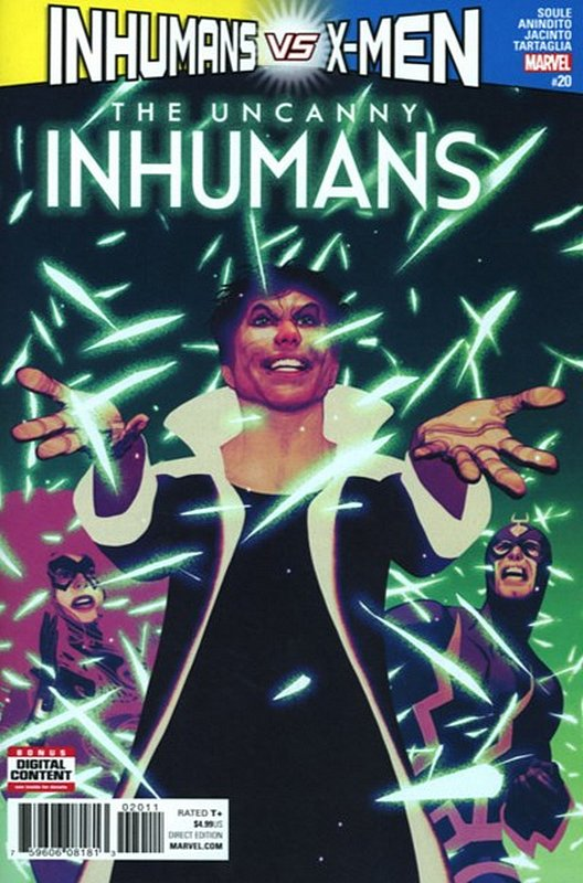 Cover of Uncanny Inhumans (Vol 1) #20. One of 250,000 Vintage American Comics on sale from Krypton!
