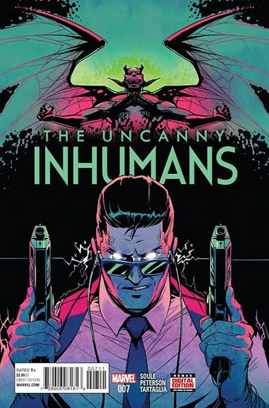 Cover of Uncanny Inhumans (Vol 1) #7. One of 250,000 Vintage American Comics on sale from Krypton!