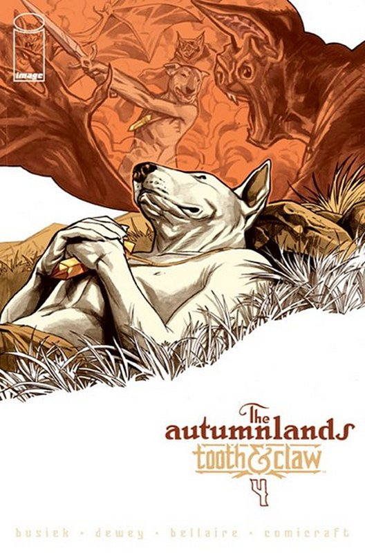 Cover of Autumnlands: Tooth & Claw (Vol 1) #4. One of 250,000 Vintage American Comics on sale from Krypton!