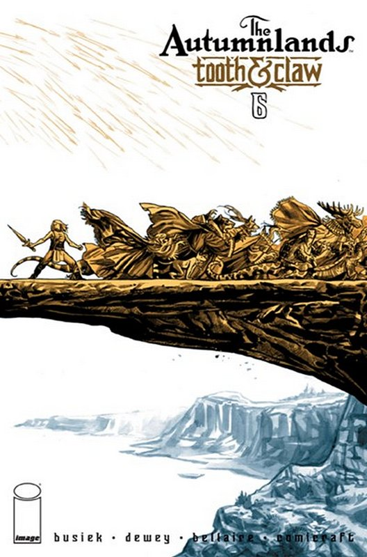 Cover of Autumnlands: Tooth & Claw (Vol 1) #6. One of 250,000 Vintage American Comics on sale from Krypton!