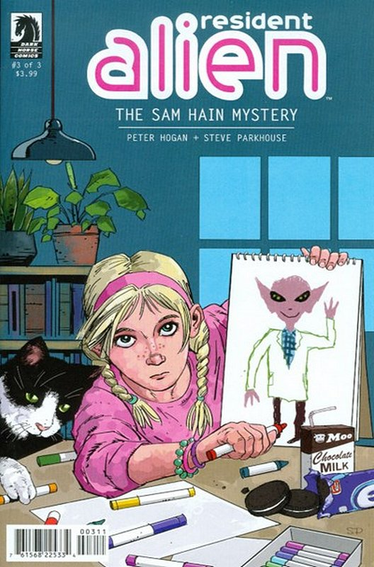 Cover of Resident Alien: Sam Hain Mystery (2015 Ltd) #3. One of 250,000 Vintage American Comics on sale from Krypton!