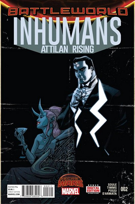 Cover of Inhumans: Attilan Rising (Vol 1) #2. One of 250,000 Vintage American Comics on sale from Krypton!