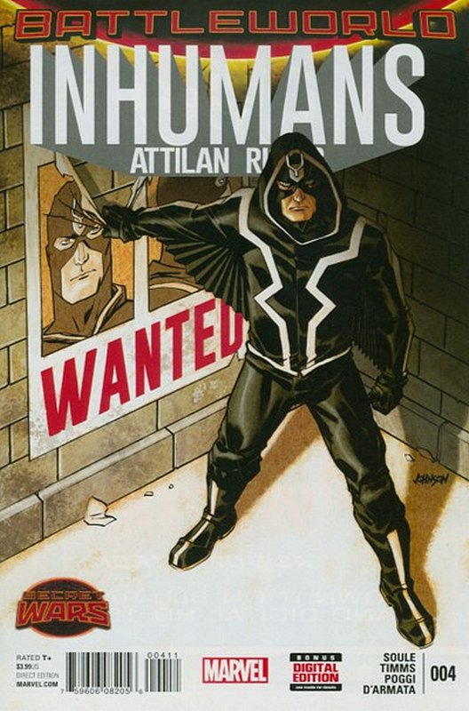 Cover of Inhumans: Attilan Rising (Vol 1) #4. One of 250,000 Vintage American Comics on sale from Krypton!
