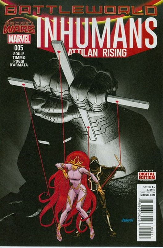 Cover of Inhumans: Attilan Rising (Vol 1) #5. One of 250,000 Vintage American Comics on sale from Krypton!