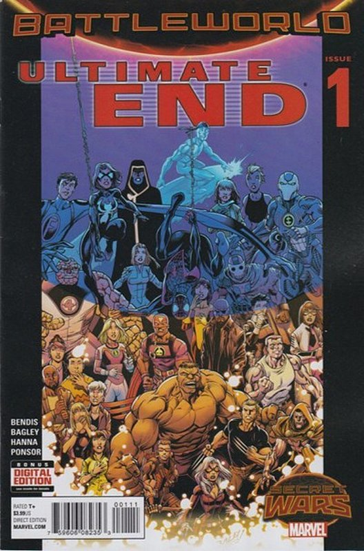 Cover of Ultimate End (2015 Ltd) #1. One of 250,000 Vintage American Comics on sale from Krypton!