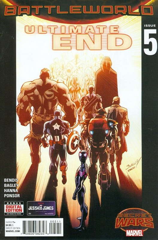 Cover of Ultimate End (2015 Ltd) #5. One of 250,000 Vintage American Comics on sale from Krypton!