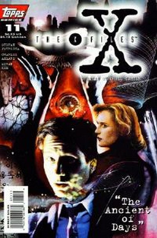 Cover of X-Files #11. One of 250,000 Vintage American Comics on sale from Krypton!