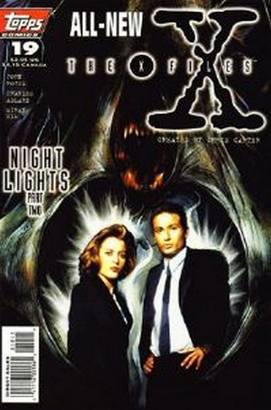 Cover of X-Files #19. One of 250,000 Vintage American Comics on sale from Krypton!