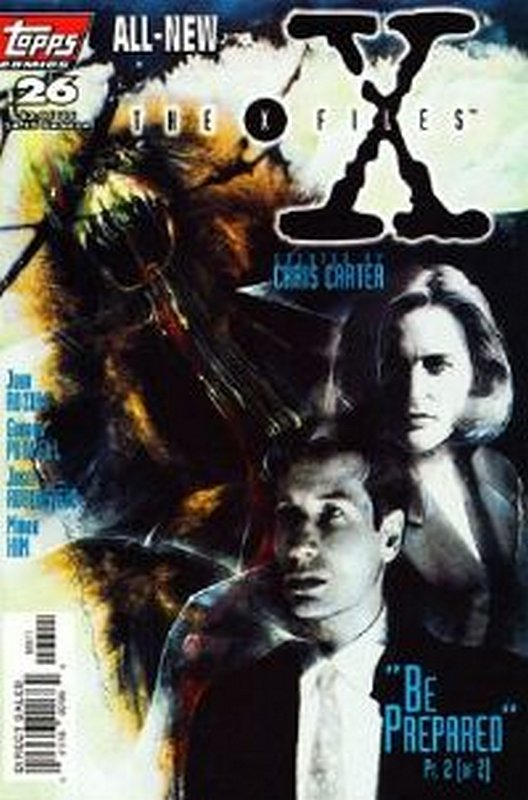 Cover of X-Files #26. One of 250,000 Vintage American Comics on sale from Krypton!