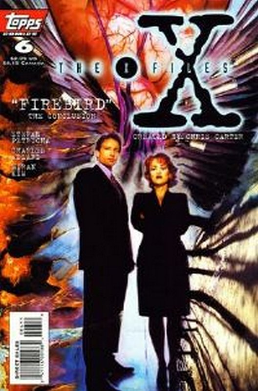 Cover of X-Files #6. One of 250,000 Vintage American Comics on sale from Krypton!