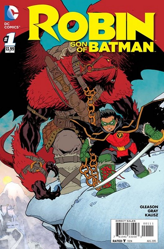 Cover of Robin: Son of Batman (Vol 1) #1. One of 250,000 Vintage American Comics on sale from Krypton!
