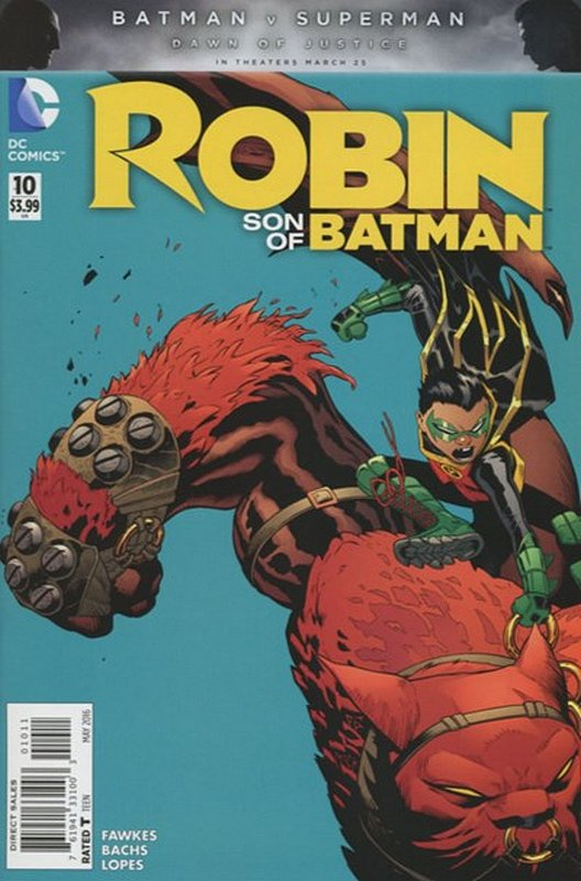 Cover of Robin: Son of Batman (Vol 1) #10. One of 250,000 Vintage American Comics on sale from Krypton!