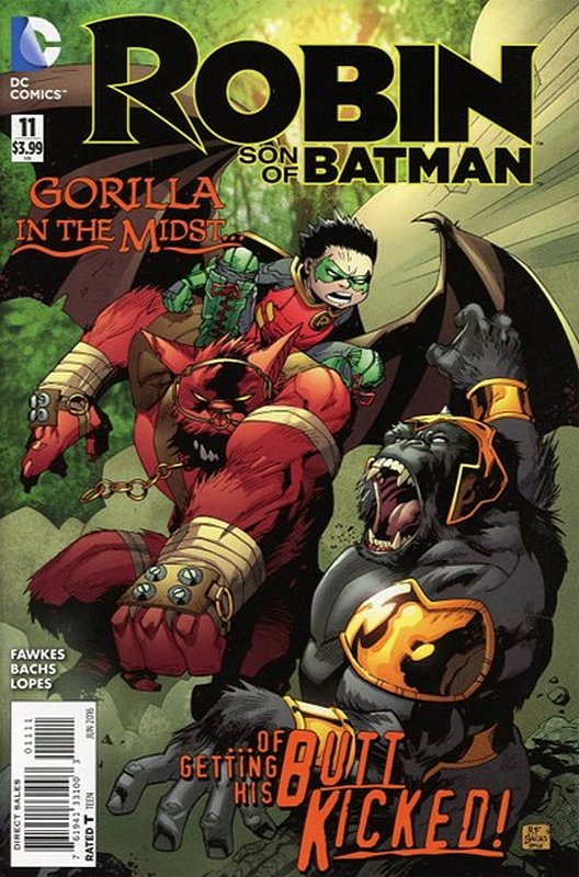 Cover of Robin: Son of Batman (Vol 1) #11. One of 250,000 Vintage American Comics on sale from Krypton!
