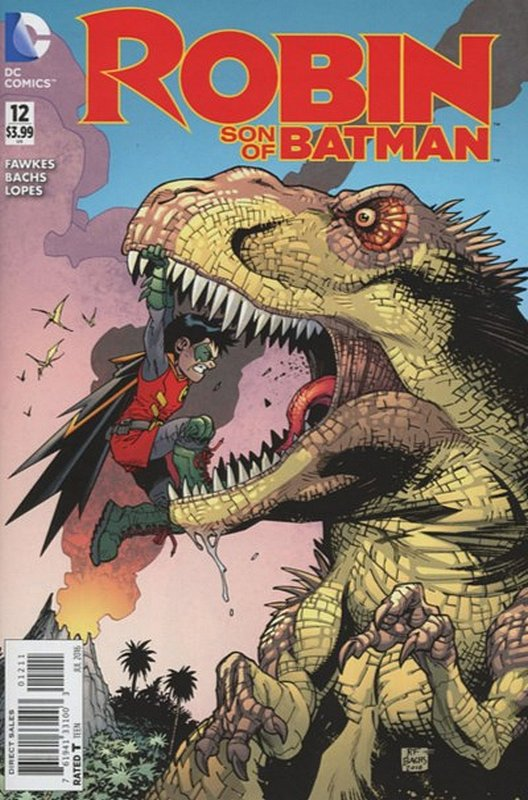 Cover of Robin: Son of Batman (Vol 1) #12. One of 250,000 Vintage American Comics on sale from Krypton!
