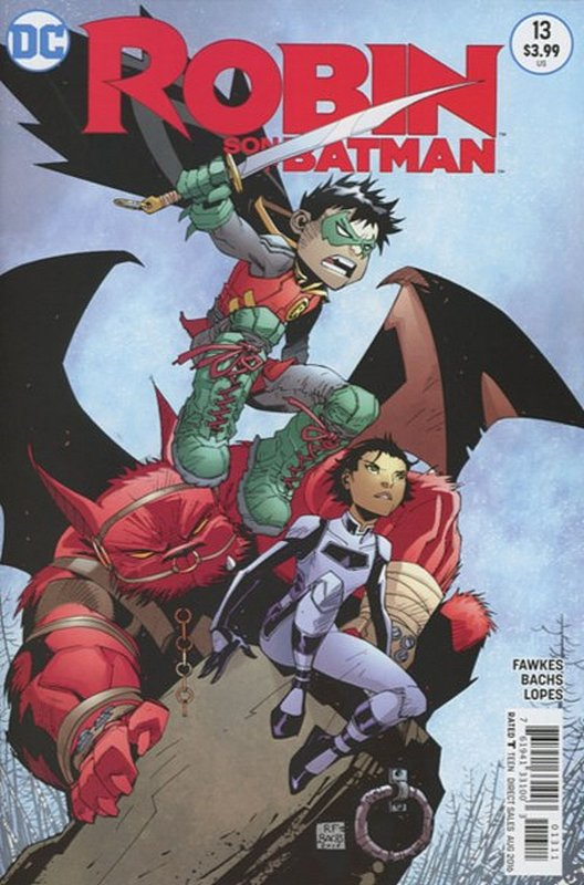 Cover of Robin: Son of Batman (Vol 1) #13. One of 250,000 Vintage American Comics on sale from Krypton!