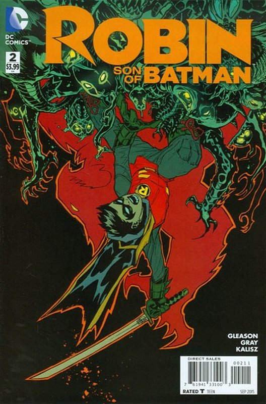 Cover of Robin: Son of Batman (Vol 1) #2. One of 250,000 Vintage American Comics on sale from Krypton!