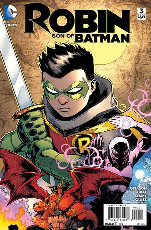 Cover of Robin: Son of Batman (Vol 1) #3. One of 250,000 Vintage American Comics on sale from Krypton!