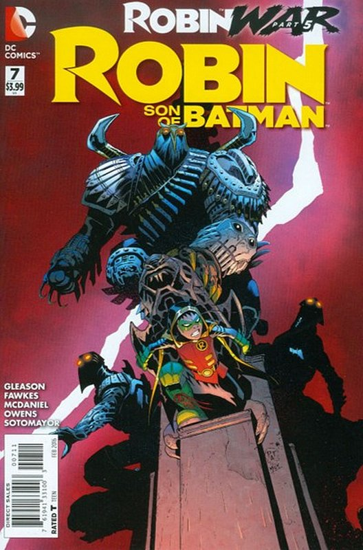 Cover of Robin: Son of Batman (Vol 1) #7. One of 250,000 Vintage American Comics on sale from Krypton!