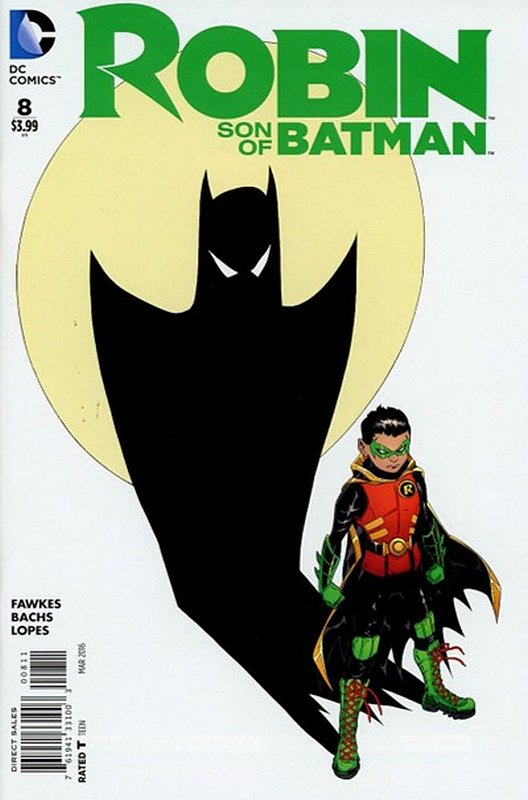 Cover of Robin: Son of Batman (Vol 1) #8. One of 250,000 Vintage American Comics on sale from Krypton!