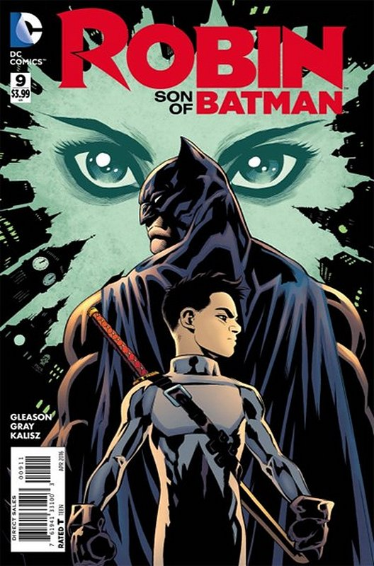 Cover of Robin: Son of Batman (Vol 1) #9. One of 250,000 Vintage American Comics on sale from Krypton!