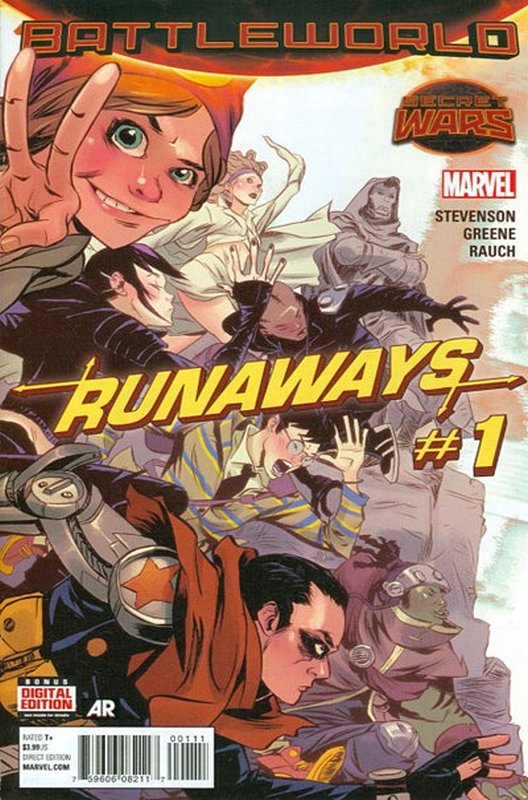 Cover of Runaways (Vol 4) #1. One of 250,000 Vintage American Comics on sale from Krypton!