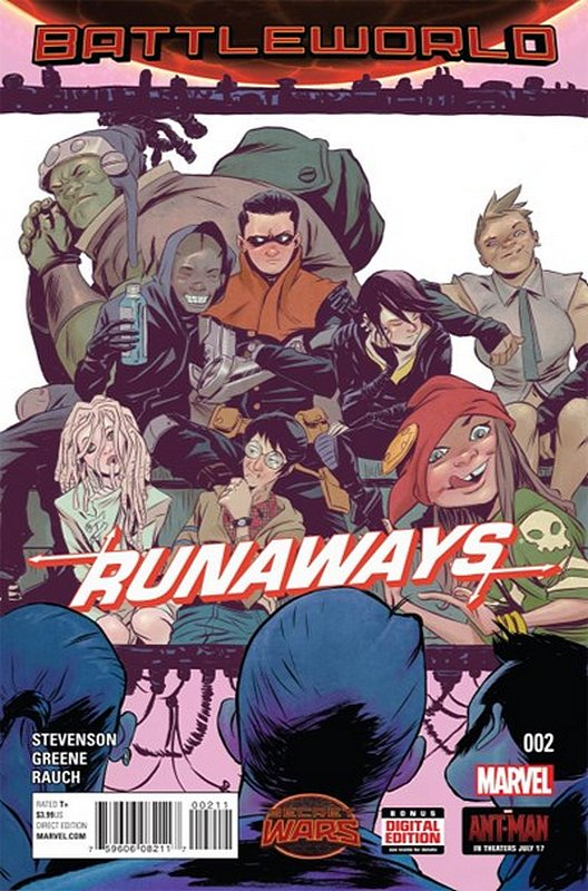 Cover of Runaways (Vol 4) #2. One of 250,000 Vintage American Comics on sale from Krypton!