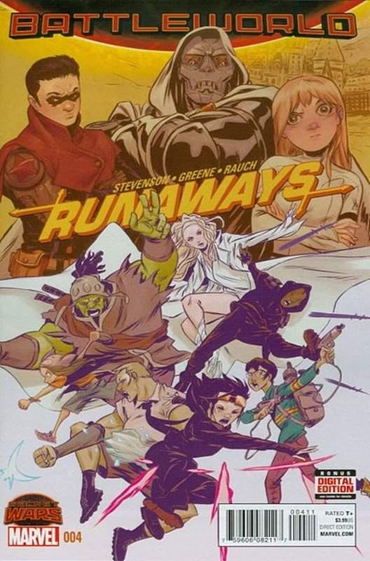Cover of Runaways (Vol 4) #4. One of 250,000 Vintage American Comics on sale from Krypton!