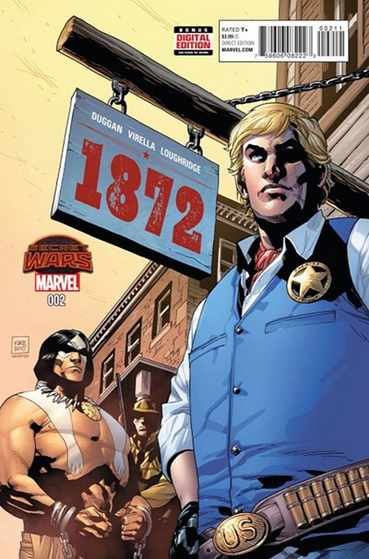 Cover of Marvel: 1872 (2015 Ltd) #2. One of 250,000 Vintage American Comics on sale from Krypton!