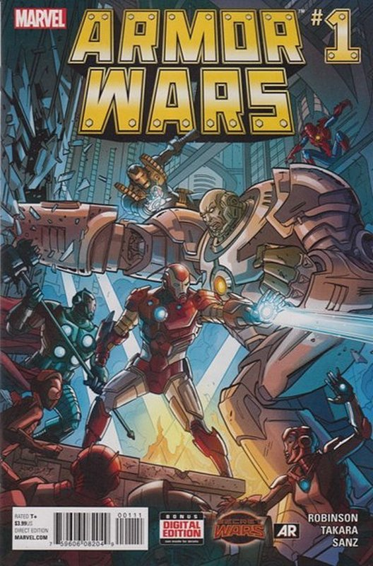 Cover of Armor Wars (2015 Ltd) #1. One of 250,000 Vintage American Comics on sale from Krypton!