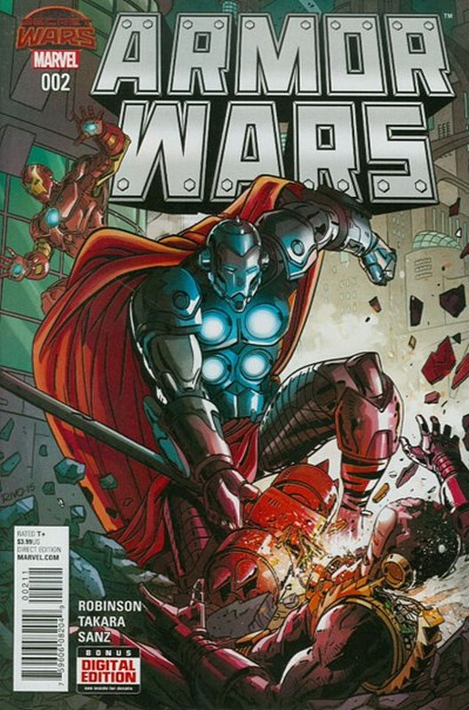 Cover of Armor Wars (2015 Ltd) #2. One of 250,000 Vintage American Comics on sale from Krypton!
