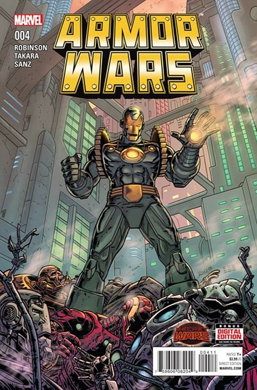 Cover of Armor Wars (2015 Ltd) #4. One of 250,000 Vintage American Comics on sale from Krypton!