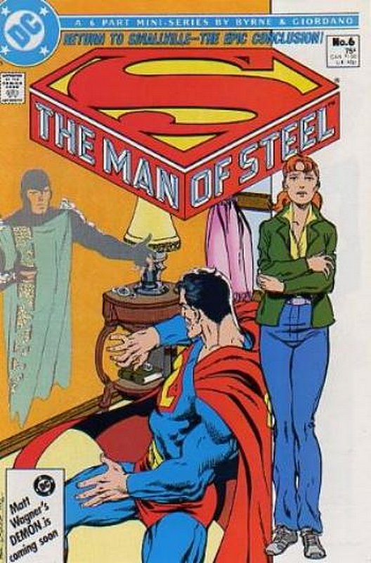 Cover of Man of Steel (1987 Ltd) The #6. One of 250,000 Vintage American Comics on sale from Krypton!