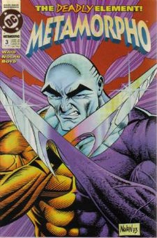 Cover of Metamorpho (1993 Ltd) #3. One of 250,000 Vintage American Comics on sale from Krypton!