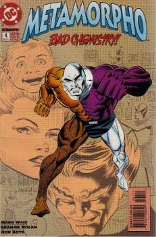 Cover of Metamorpho (1993 Ltd) #4. One of 250,000 Vintage American Comics on sale from Krypton!