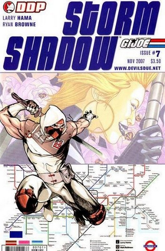 Cover of Storm Shadow (Vol 1) #7. One of 250,000 Vintage American Comics on sale from Krypton!