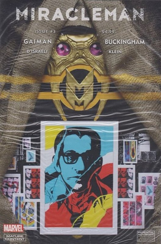 Cover of Miracleman: By Gaiman & Buckingham (Vol 1) #3. One of 250,000 Vintage American Comics on sale from Krypton!