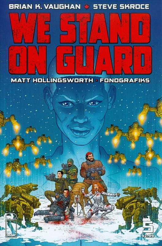 Cover of We Stand on Guard (Vol 1) #5. One of 250,000 Vintage American Comics on sale from Krypton!