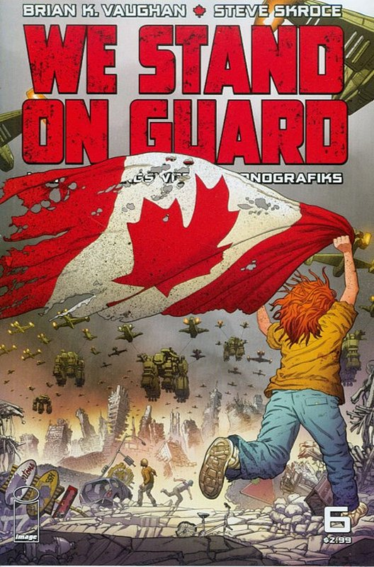 Cover of We Stand on Guard (Vol 1) #6. One of 250,000 Vintage American Comics on sale from Krypton!