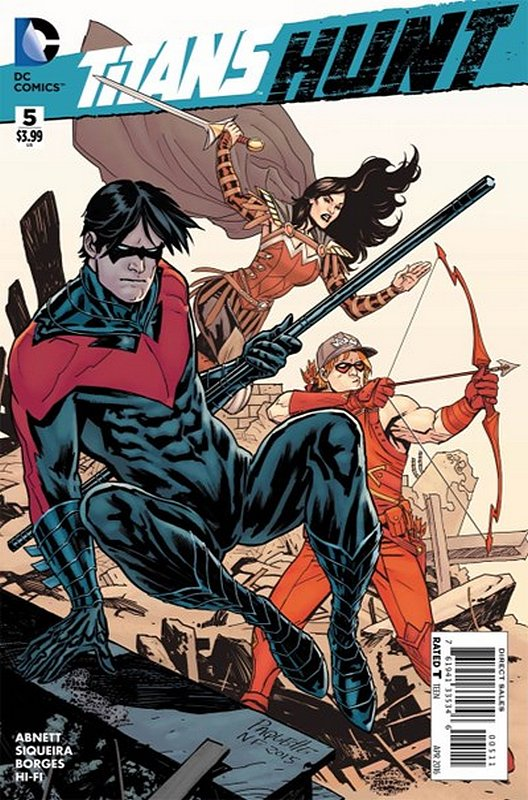 Cover of Titans: Hunt (2015 Ltd) #5. One of 250,000 Vintage American Comics on sale from Krypton!