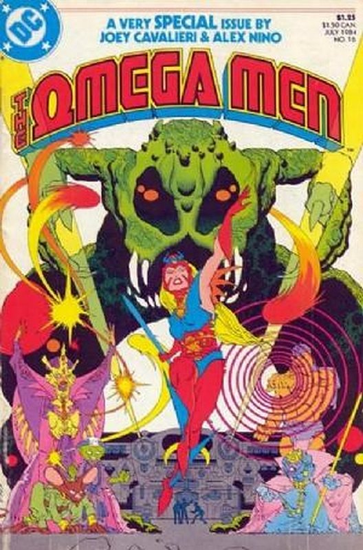 Cover of Omega Men (Vol 1) #16. One of 250,000 Vintage American Comics on sale from Krypton!
