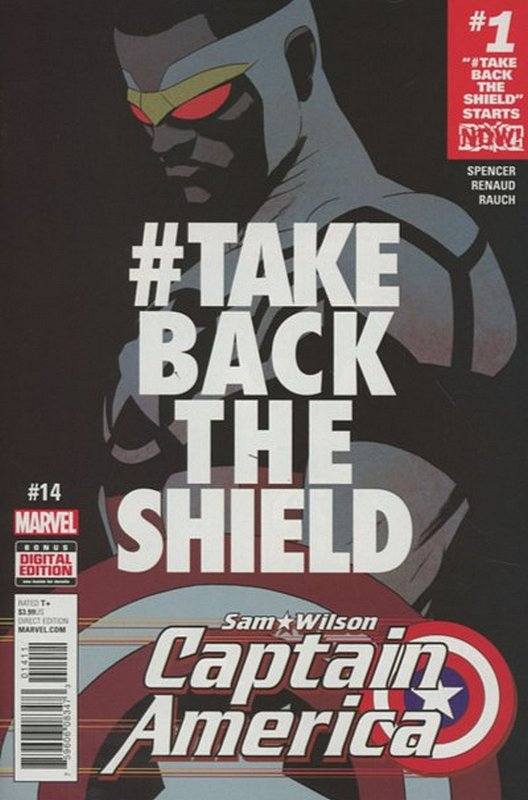 Cover of Captain America: Sam Wilson (Vol 1) #14. One of 250,000 Vintage American Comics on sale from Krypton!
