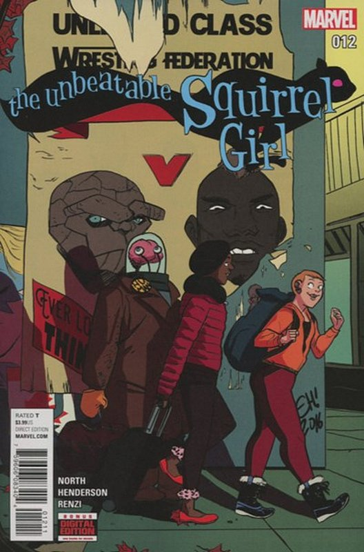 Cover of Unbeatable Squirrel Girl (Vol 2) #12. One of 250,000 Vintage American Comics on sale from Krypton!