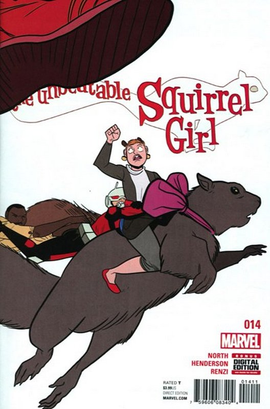 Cover of Unbeatable Squirrel Girl (Vol 2) #14. One of 250,000 Vintage American Comics on sale from Krypton!