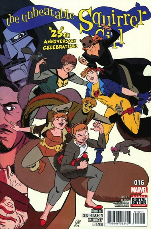 Cover of Unbeatable Squirrel Girl (Vol 2) #16. One of 250,000 Vintage American Comics on sale from Krypton!